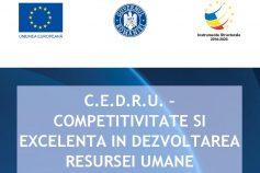 C.E.D.R.U. – Competitivitate și Excelență în Dezvoltarea Resursei Umane